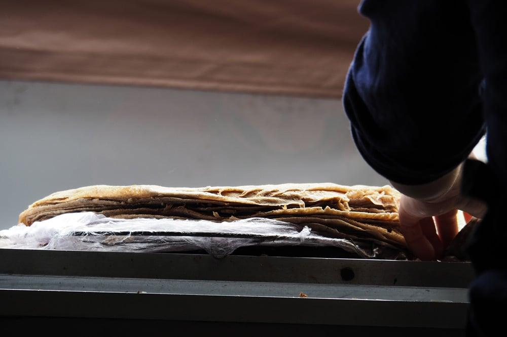 meilleure crêperie à Rennes galette-saucisse place des Lices