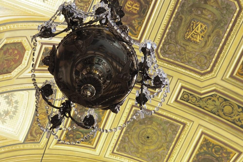 Cathédrale Saint Pierre de Rennes coupole