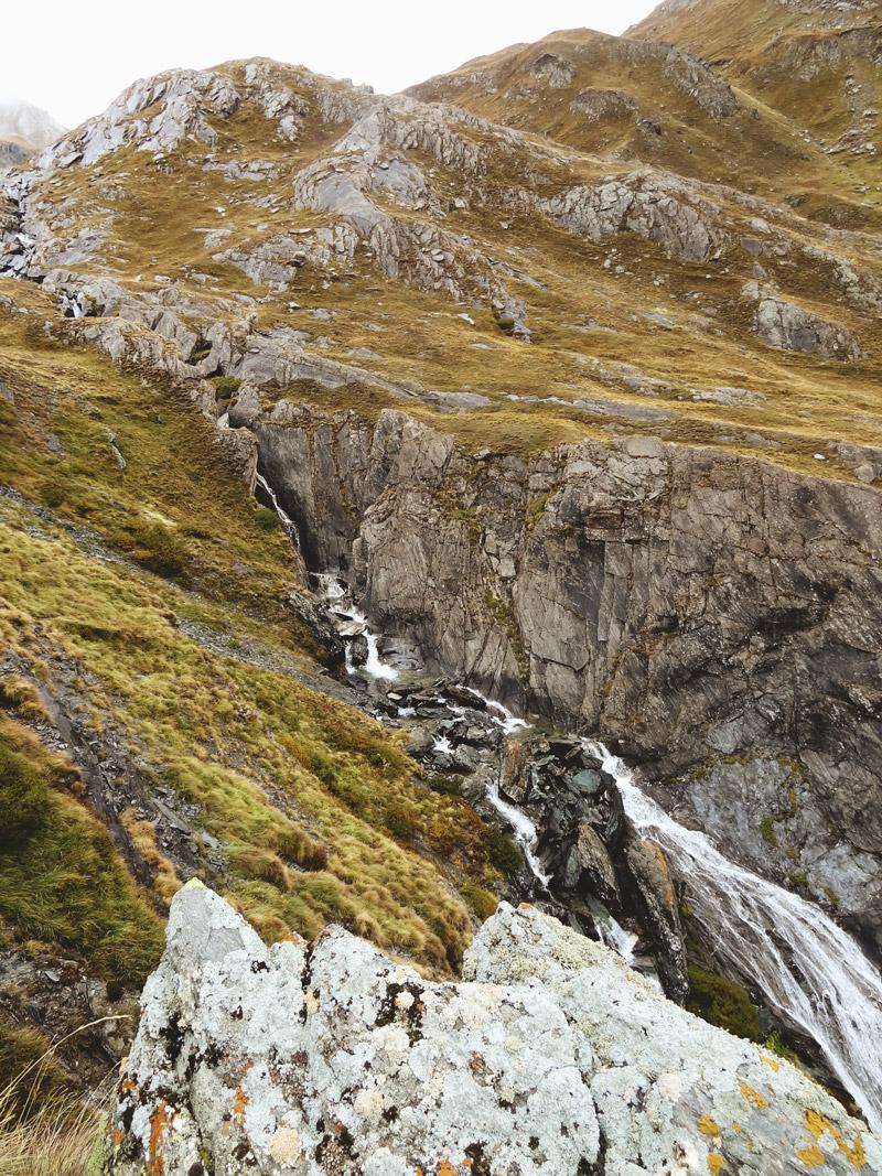 cascade Ubaye au Longet