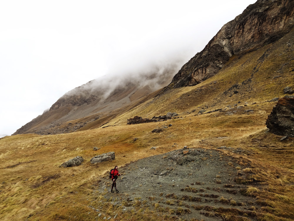 rando le bon itinéraire pour monter au Col du Longet