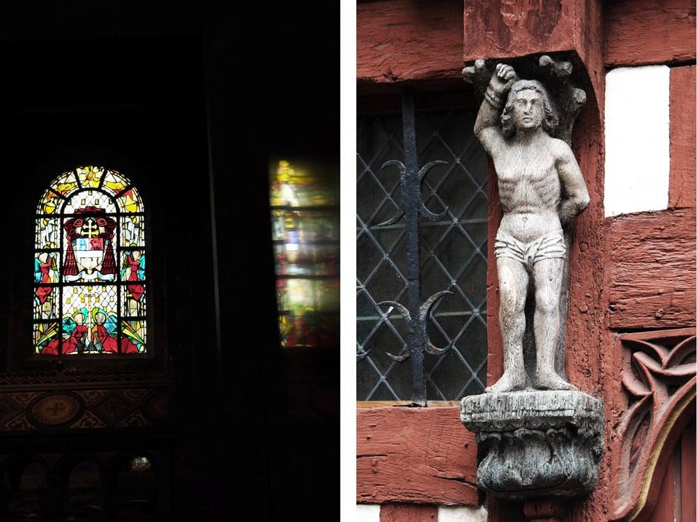 visiter centre historique de Rennes colombage