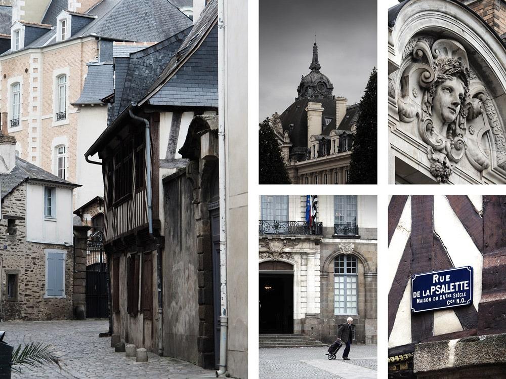 Visiter centre historique de Rennes conseils itinéraire