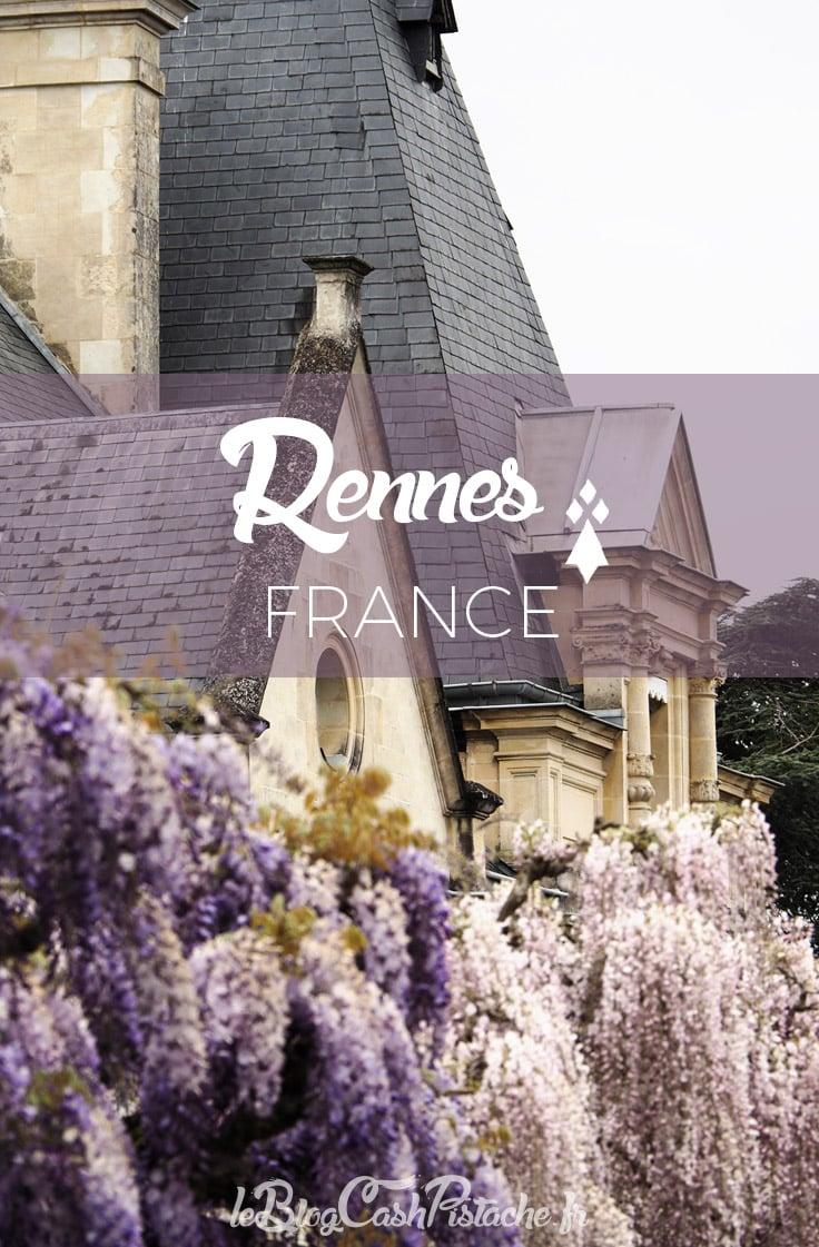 Visiter le centre ville de Rennes
