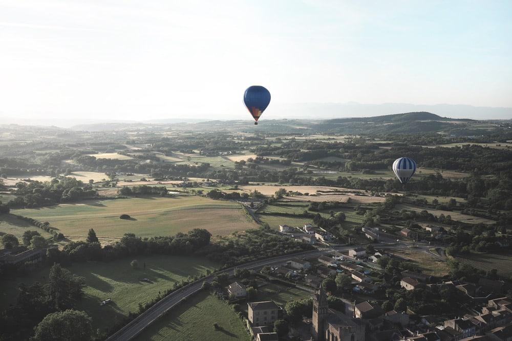 art de l'envol Annonay montgolfière