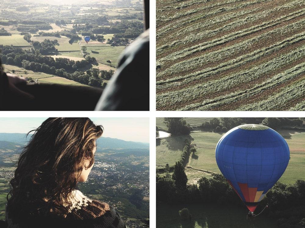 baptême vol en montgolfière Ardèche du Nord