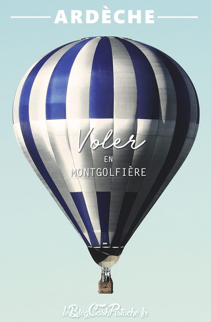 émerveillés par l'Ardèche : voler en montgolfière