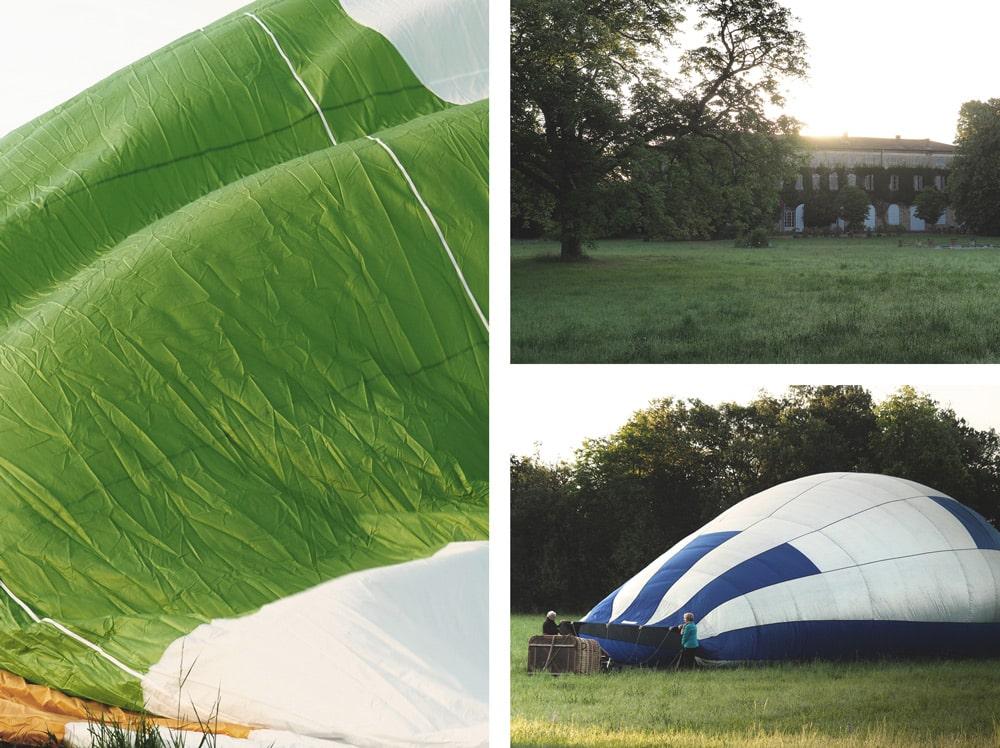 faire de la montgolfière à Annonay