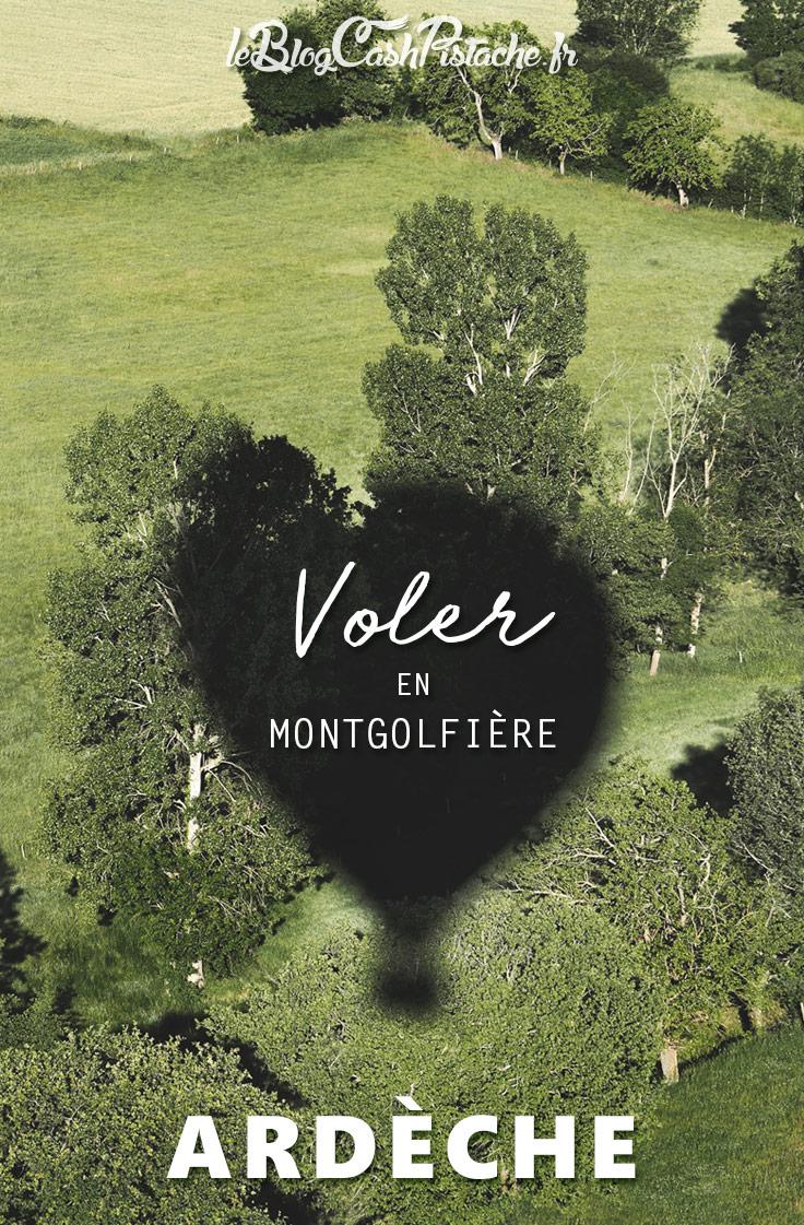 où faire de la montgolfière Ardèche du Nord