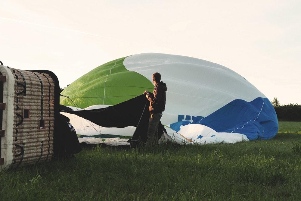 faire montgolfière et cie Annonay