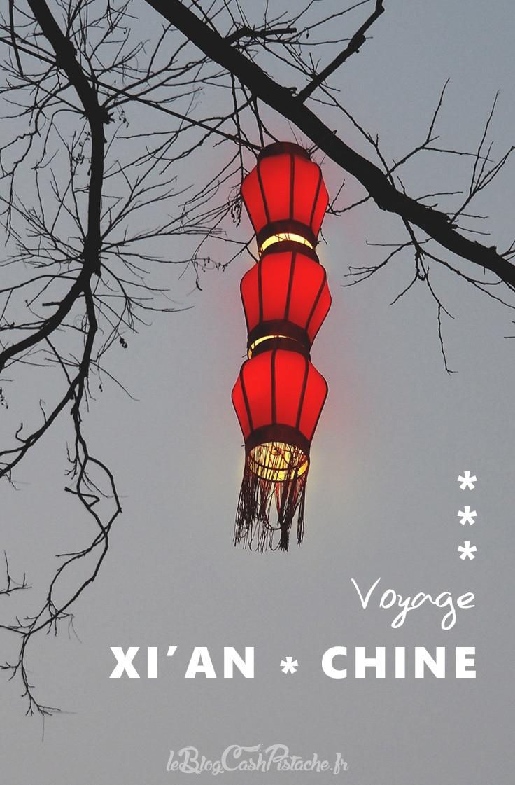 festival des lanternes de Xian Chine