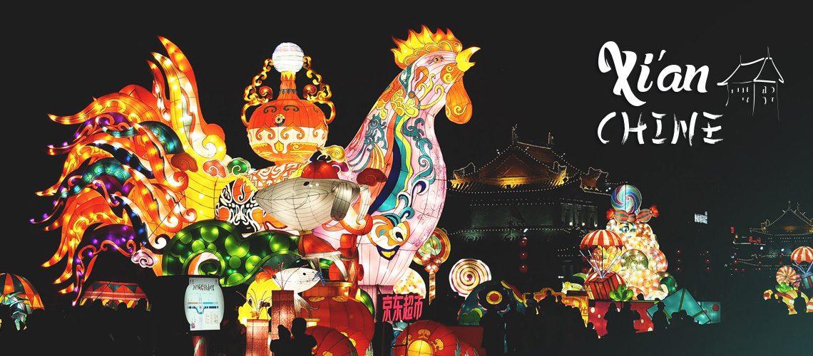 fête des lanternes de Xi'an en Chine