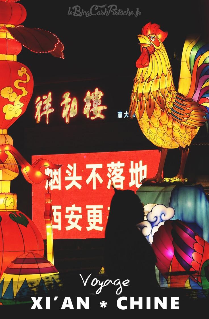 lanternes de Xian festival