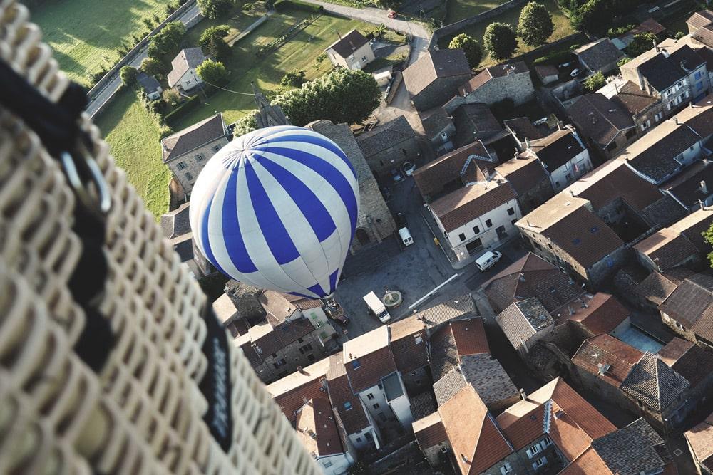 fête de la montgolfière Annonay au printemps