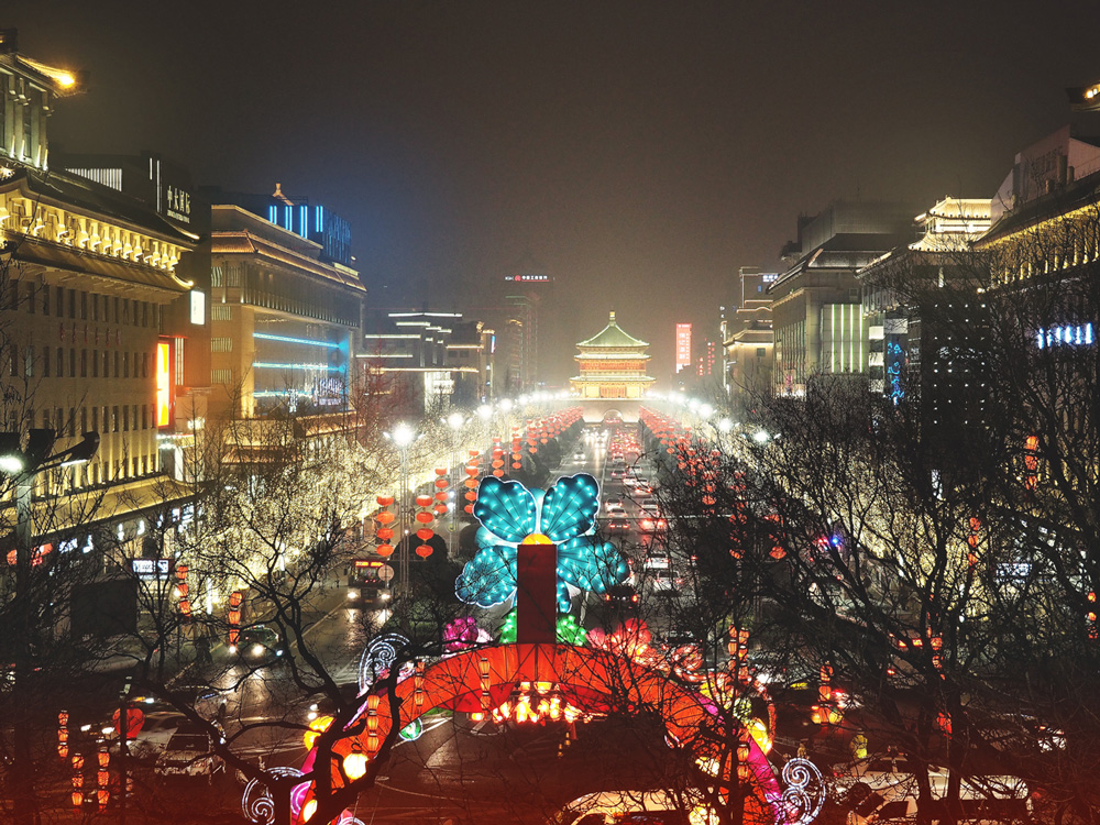 fête des Lanternes en février mars à Xi'an