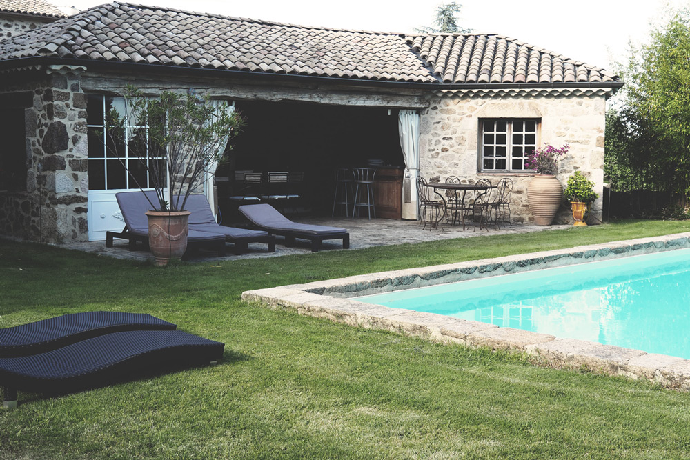 maison d'hôtes avec piscine Annonay Clos de Lapras