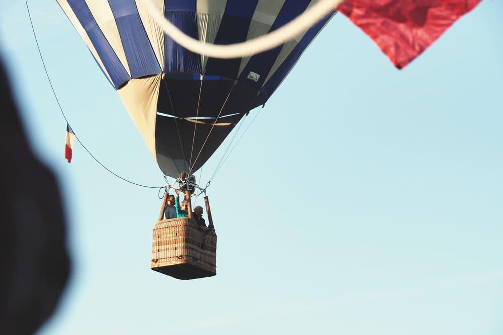 prix montgolfière en Ardèche
