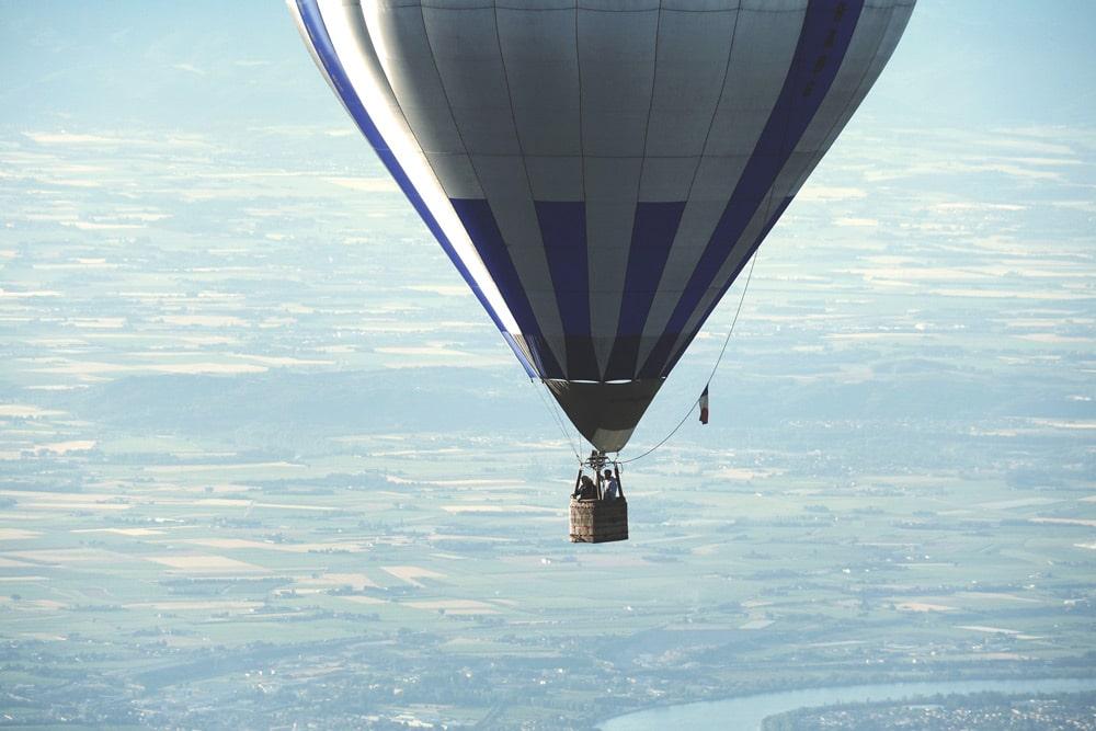 Champion de France de montgolfière Quintenas