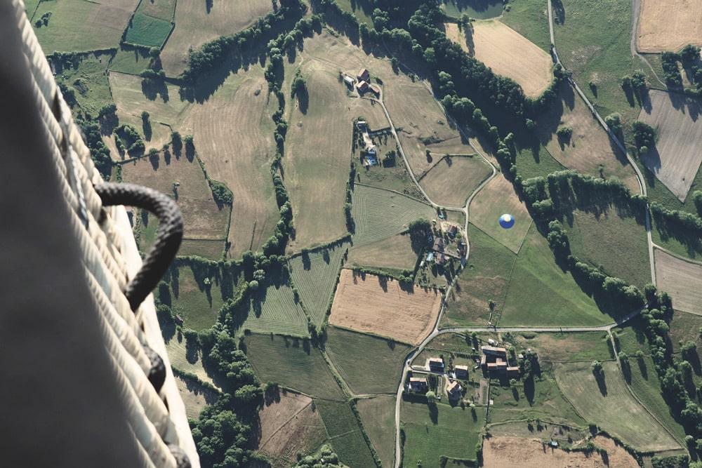 vacances à Annonay montgolfière Quintenas