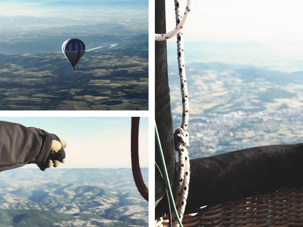 où faire de la Montgolfière en sécurité Ardèche
