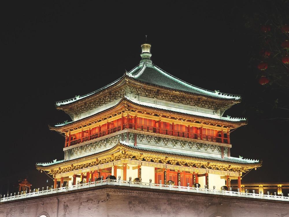 tour de la Cloche Xi'an, quoi faire à Xian ?