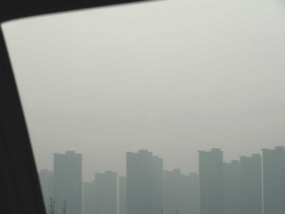 trajet aéroport centre ville Xi'an Chine