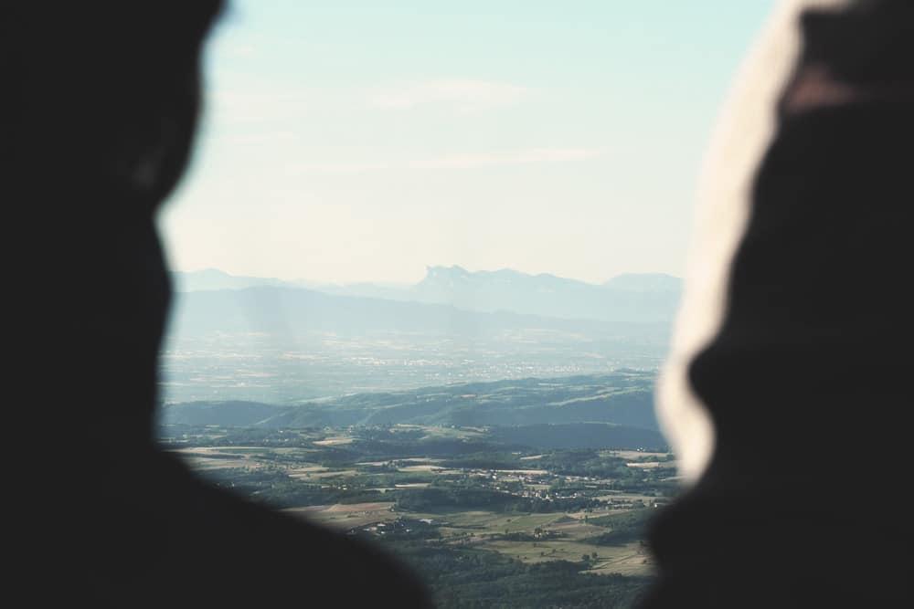 Vacances Annonay en montgolfière Ardèche grand air