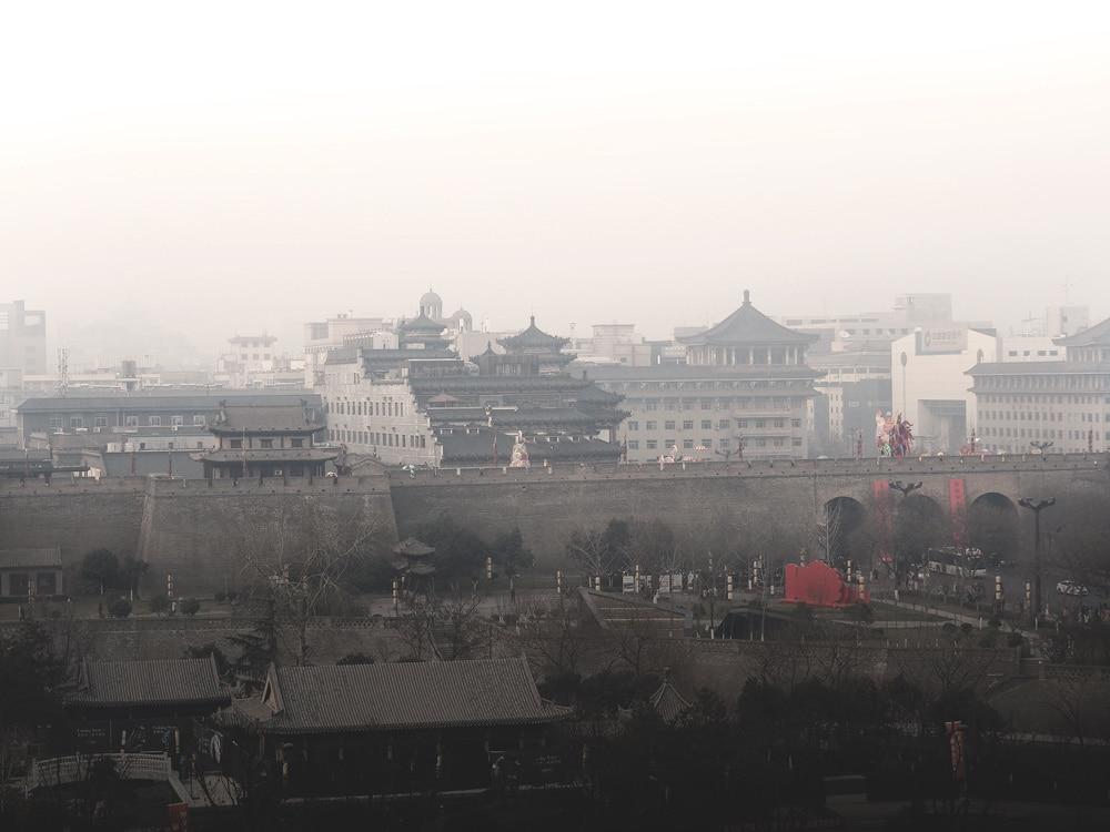 visiter Xi'an centre ville fortifications en fête