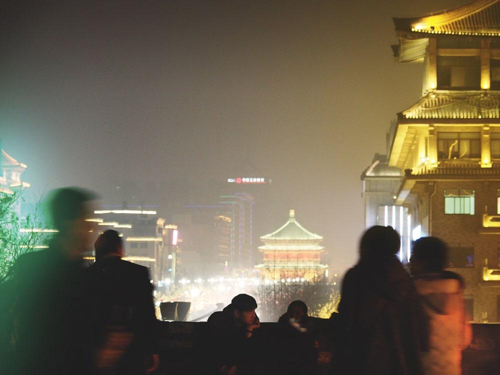 Visiter Xi'an la nuit - Chine