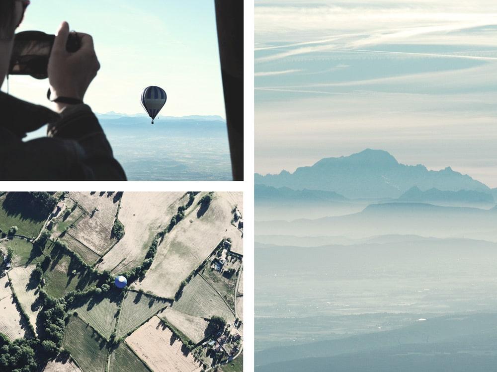 vol en montgolfière Ardèche du Nord