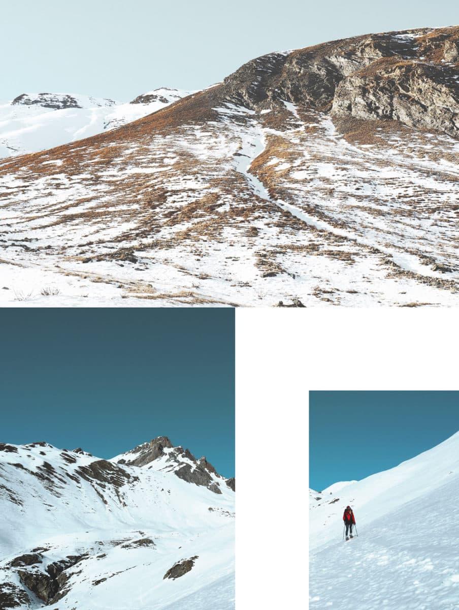 Activités de montagne en hiver Alpes