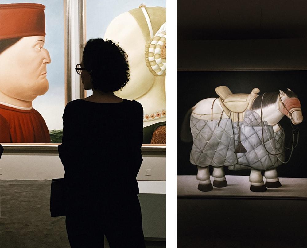 Botero dialogue avec Picasso
