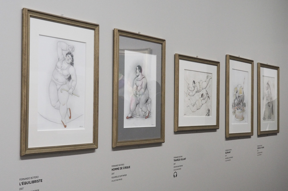 Botero exposition Aix en provence Centre d'Art