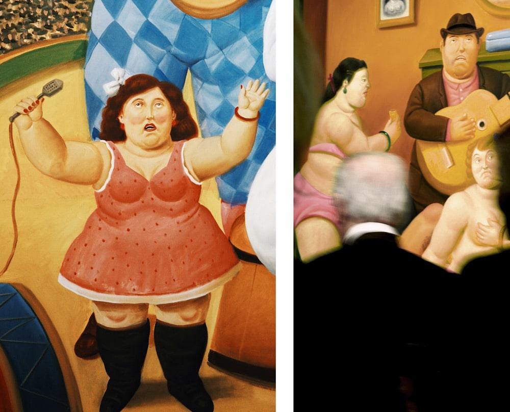 Botero peintre des formes rondes