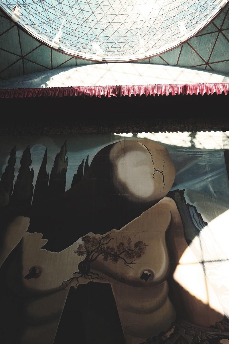 coupole musée Figueres Dali
