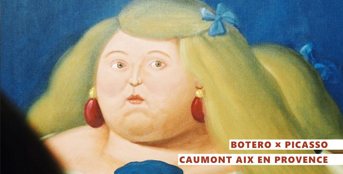 exposition Botero aix-en-provence hotel Caumont