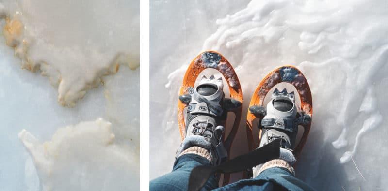 Quelles raquettes dans les Alpes en hiver