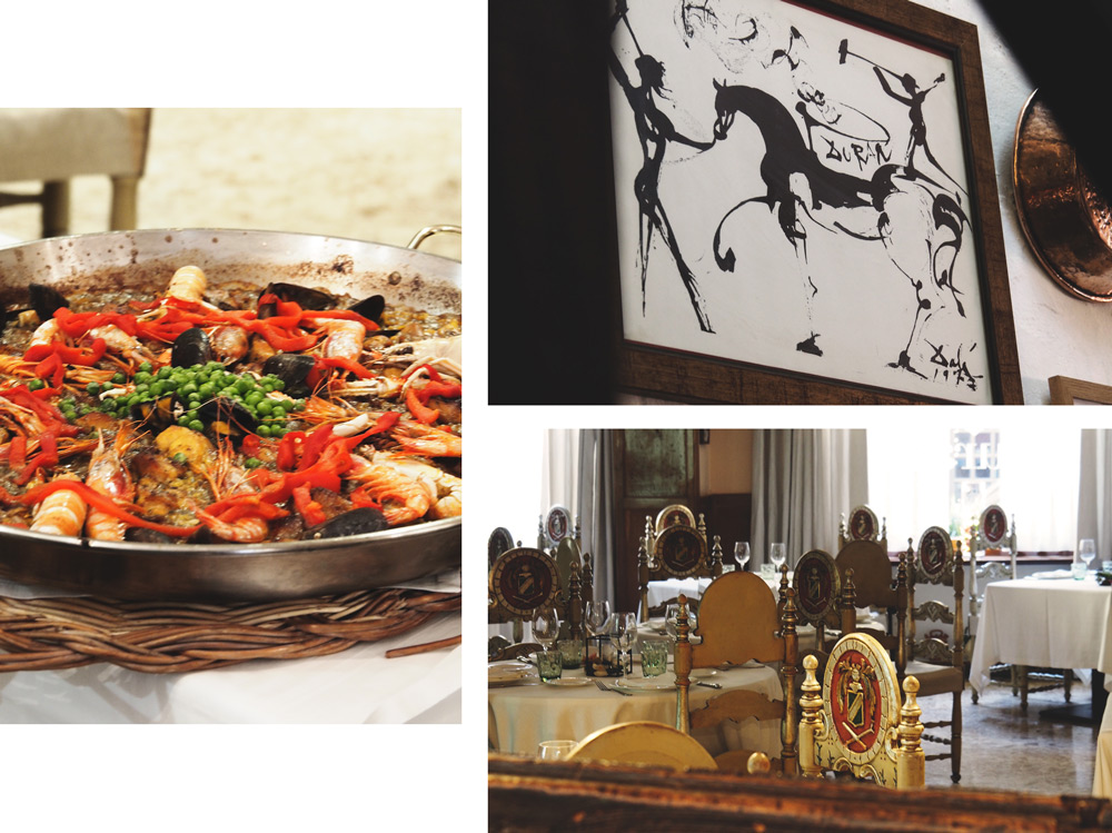restaurant Duran où manger à Figueres selon Dali