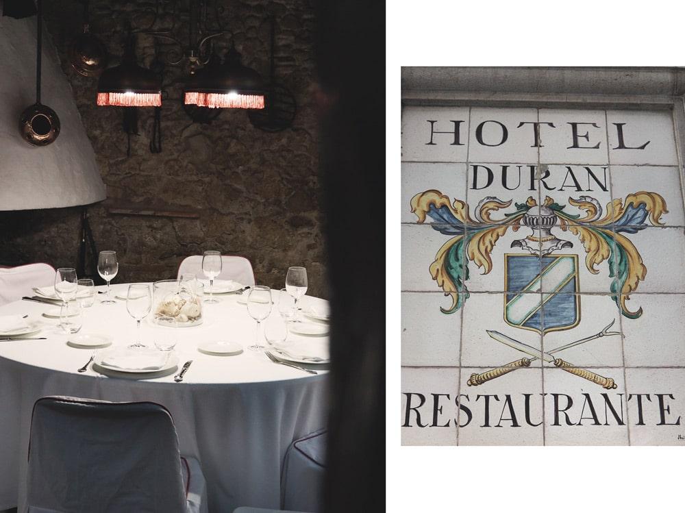 restaurant Figueras Duran restaurant typique de Dali
