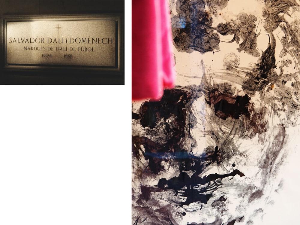 tombe de Salvador Dali musée Figueras