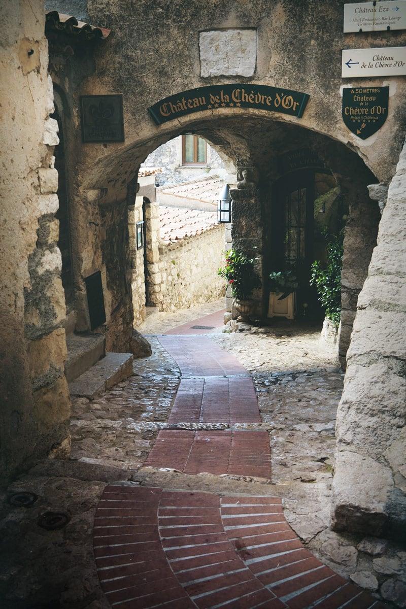 Château de la Chèvre d'Or Êze village Côte d'Azur