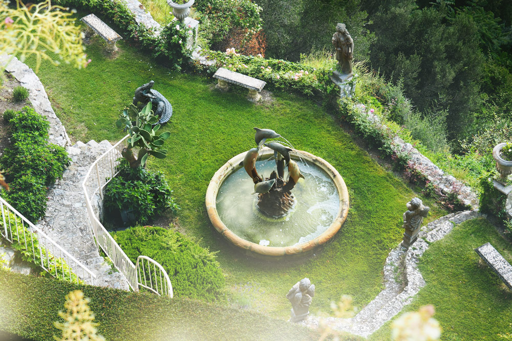 jardin Êze village hôtel La Chèvre d'Or