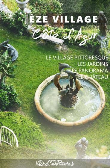 jardins Eze village Côte d'Azur