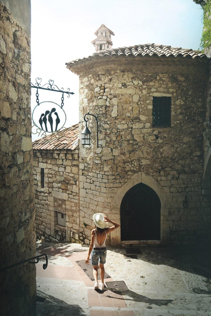 visiter Côte d'Azur Êze village