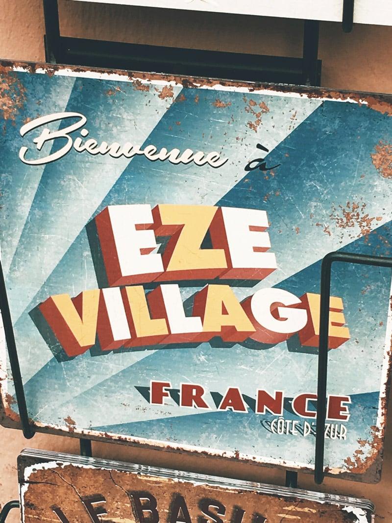 visiter Êze France souvenirs