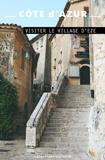 visiter Eze village Côte d'Azur