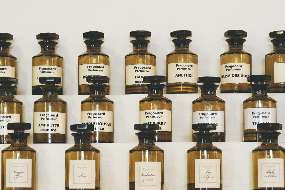 visiter parfums usine fragonard Êze