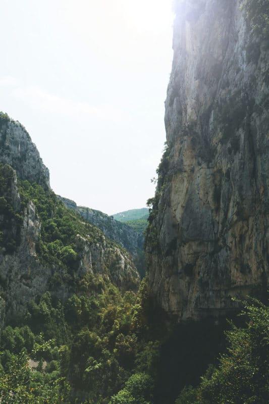 gorges du Verdon randonnée itinéraire