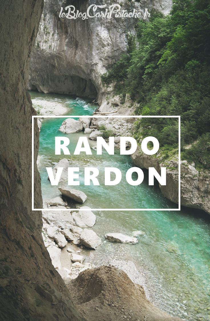 Rando Verdon Provence Sentier Martel itinéraire