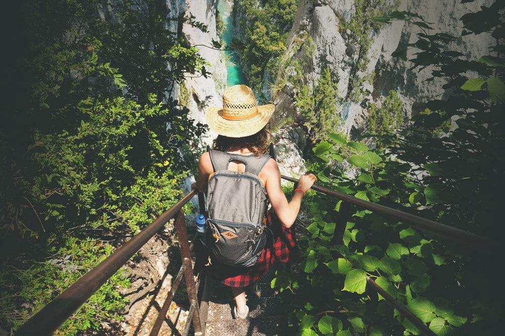 randonnée Gorges du Verdon sentier Martel carte 10 étapes