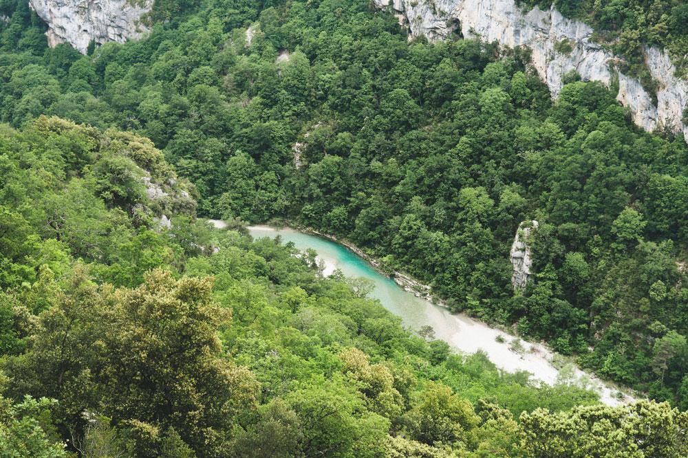 Randonnée la plus connue du Verdon Sentier Martel